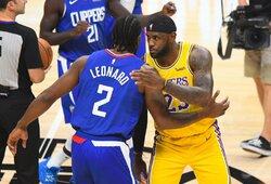 """Los Andželo derbyje – K.Leonardo vedamos """"Clippers"""" pergalė"""