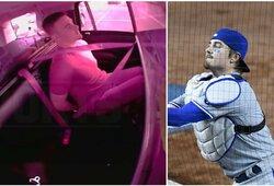 MLB žaidėjas įsivėlė į skandalą viešoje vietoje: nusimovė kelnes ir tenkino save