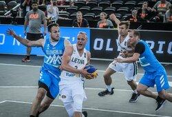Pasaulio 3x3 krepšinio čempionato grupių etapą lietuviai baigė pergale, bet nepateko į ketvirtfinalį