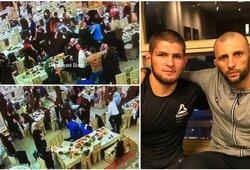 UFC kovotojo šou vestuvėse: mėtė maistą į moteris, nenorėjo nustoti gerti ir sukėlė masines muštynes