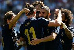"""Ispanijoje – anuliuotas """"Celta Vigo"""" įvartis, L.Modričiaus pirma raudona kortelė """"La Ligoje"""" ir užtikrinta """"Real"""" pergalė"""