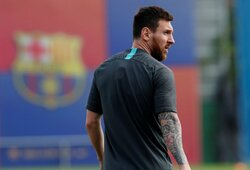 """E.Valverde atskleidė, kada priims sprendimą dėl L.Messi pasirodymo rungtynėse su """"Borussia"""""""