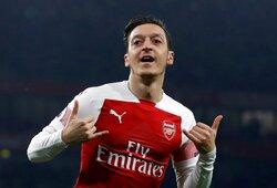 """ESPN: """"Arsenal"""" sutiko šį savaitgalį nutraukti kontraktą su M.Ozilu"""