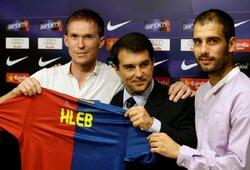 """A.Hlebo prisiminimai apie """"Barcą"""": girtaujantys Ronaldinho ir Deco, baimė dėl L.Messi bei gyvenimas su T.Henry"""
