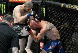 """UFC Vegas 26"": A.Morano techniniu nokautu įveikė D.Cerrone'ą"
