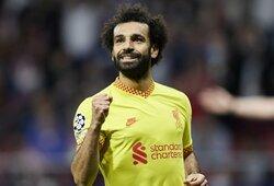 """""""Liverpool"""" žvaigždė M.Salah atskleidė, kurioje komandoje norėtų baigti savo karjerą"""