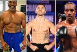 Dvigubas bokso desertas: E.Kavaliauskas ir M.Tysonas turėtų kovoti tą patį vakarą
