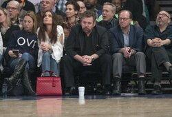 """Knicks"" savininkui nustatytas COVID-19 virusas"