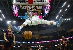 """""""Bucks"""" ypatingai greitai užsitikrino vietą NBA atkrintamosiose"""