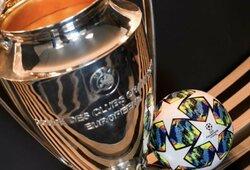 """Ištraukti Čempionų lygos aštuntfinalio burtai: """"Real"""" laukia """"Man City"""" iššūkis, """"Chelsea"""" susikaus su """"Bayern"""""""