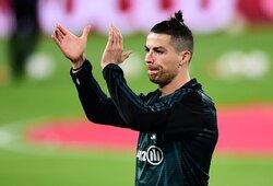 C.Ronaldo vėl pirmas: dar nė vienas futbolininkas nėra to padaręs