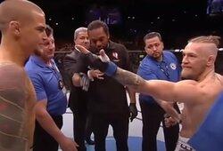 """C.McGregoras pratrūko, pamatęs UFC reitingą: """"Aš jį sunaikinau per 90 sekundžių, o jis stovi aukščiau už mane"""""""