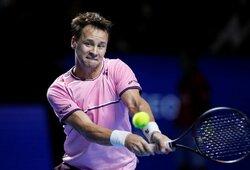 """R.Berankis užtikrintai pradėjo """"Australian Open"""" turnyrą"""