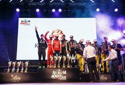 """""""Aurum 1006 km lenktynėse"""" – tuščias antrasis podiumo laiptelis ir 10-as čempiono titulas J.Gelžiniui"""