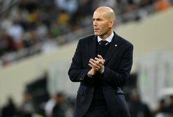 """Z.Zidanas sulygino savo situaciją su E.Valverde: """"Du pralaimėjimai ir..."""""""