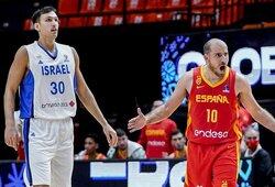 Ispanijoje – šeimininkų nesėkmė prieš Izraelį