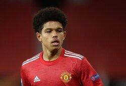 """""""Man Utd"""" jaunasis talentas užfiksavo istorinį pasiekimą"""