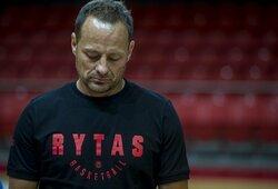 """R.Jarutis sureagavo į incidentą rungtynėse tarp """"Ryto"""" ir """"Žalgirio"""""""