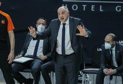 """P.Laso: """"Pirmą kartą gyvenime matau, kad Eurolygos komanda nemetė nei vieno baudos metimo"""""""