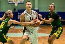 Eksperimentinėse rungtynėse – moterų blokų šou, J.Jocytė prieš R.Jocį ir šešiolikmečių vaikinų pergalė