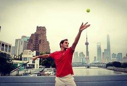 R.Federeris pranešė geras naujienas savo gerbėjams, B.Beckeris atsisakė pavadinti šveicarą geriausiu visų laikų žaidėju