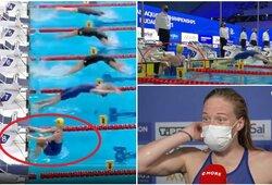 Beprecedentis įvykis: Europos čempionate teko iš naujo plaukti finalą