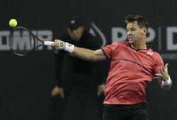 ATP 250 turnyras Sankt Peterburge: R.Berankis – A.Rubliovas 4:6, 6:5 (GYVAI)