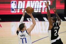 L.Dončičiaus ir J.Hardeno žaidimo technika verčia NBA svarstyti apie taisyklių pakeitimus