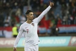 Pamatykite: 86-ąją minutę įvartį pelnęs C.Ronaldo nutildė L.Messi vardą skandavusius Liuksemburgo fanus