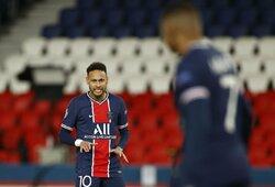"""Neymaras: """"PSG nušlavė nuo kelio Europos čempionus"""""""