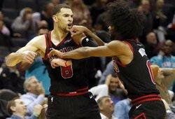 A.Karnišovas ir kiti sezono netęsiantys NBA klubai kalbasi apie alternatyvas