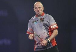 D.Labanauskas sensacingai parklupdė M.van Gerweną, bet neatsilaikė prieš fantastiškai žaidusį R.van Barneveldą (papildyta)
