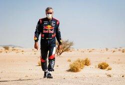 """C.Sainzas niršta: """"Tai nėra Dakaras, man tai nepatinka"""""""