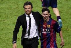 Ispanijos rinktinės treneris L.Enrique atskleidė futbolininką, kuris talentu prilygsta L.Messi