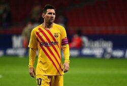 """""""The Times"""": """"Man City"""" ruošia L.Messi neįtikėtiną 10 metų pasiūlymą"""