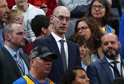 NBA nustatė, iki kada privalo baigtis šis sezonas