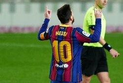 """""""Real"""" strategas Z.Zidane'as davė patarimą L.Messi dėl ateities"""