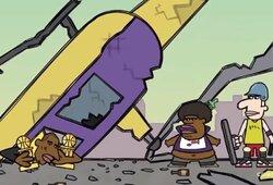 Šiurpu: animacinis filmukas prieš ketverius metus išpranašavo K.Bryanto žūties detales
