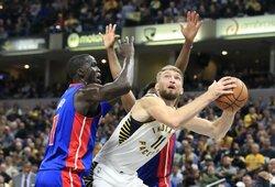 """Buvęs NBA komandos vadovas: """"Pacers"""" padarė klaidą pasirašydama sutartį su Saboniu"""""""
