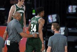 NBA suspendavo G.Antetokounmpo