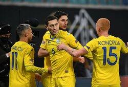 UEFA skyrė Ukrainos rinktinei techninį pralaimėjimą ir pasiuntė ją į Tautų lygos B divizioną
