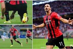 Z.Ibrahimovičiaus sugrįžimas sužavėjo futbolo fanus: nespėjo užsirišti batelių, nubėgo į ataką ir įmušė įvartį