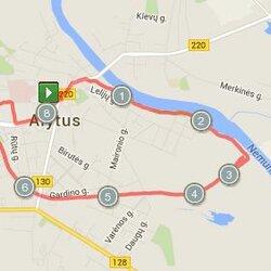 8.47 km trasa Alytuje