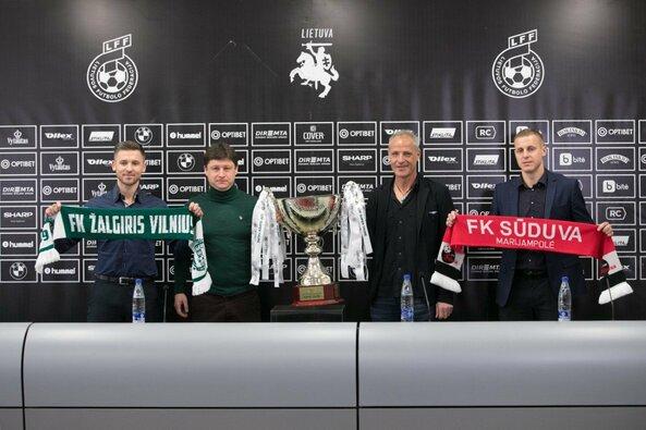 Konferencija LFF Supertaurės rungtynėms