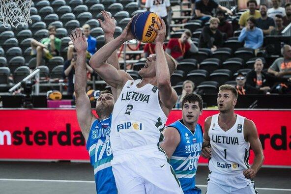 Lietuvių ir slovėnų rungtynės