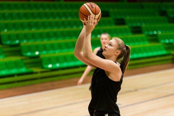 Lietuvos jaunučių krepšinio rinktinių treniruotės