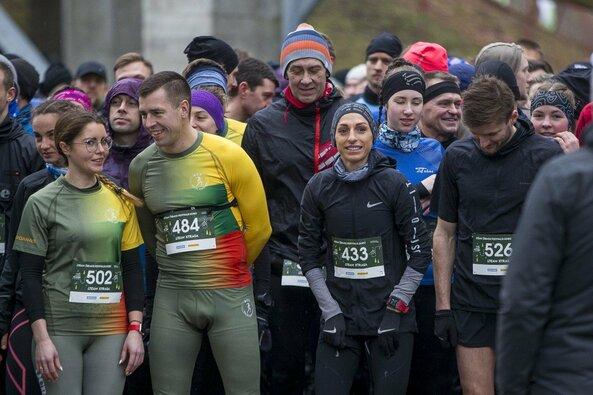 L.Kančytė su būriu bėgimo entuziastų Druskininkuose įveikė ekstremalią trasą