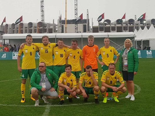 Lietuvos jungtinė futbolo rinktinė