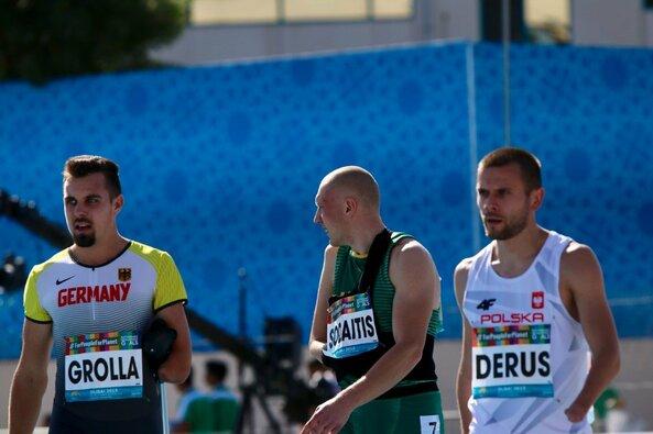 100 m bėgimo pusfinalis