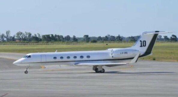 Lionelio Messi lėktuvas